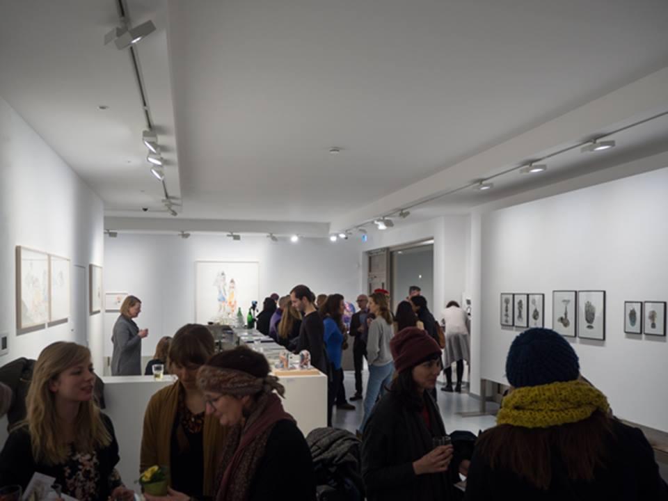 Galerie Gerken Exhibition opening 9. December 2016, 09.12.2016 - 19.01.2017, Linienstraße 217, 10119 Berlin – Mitte Photograph: Photograph: © Andreas Baudisch, Galerie Gerken
