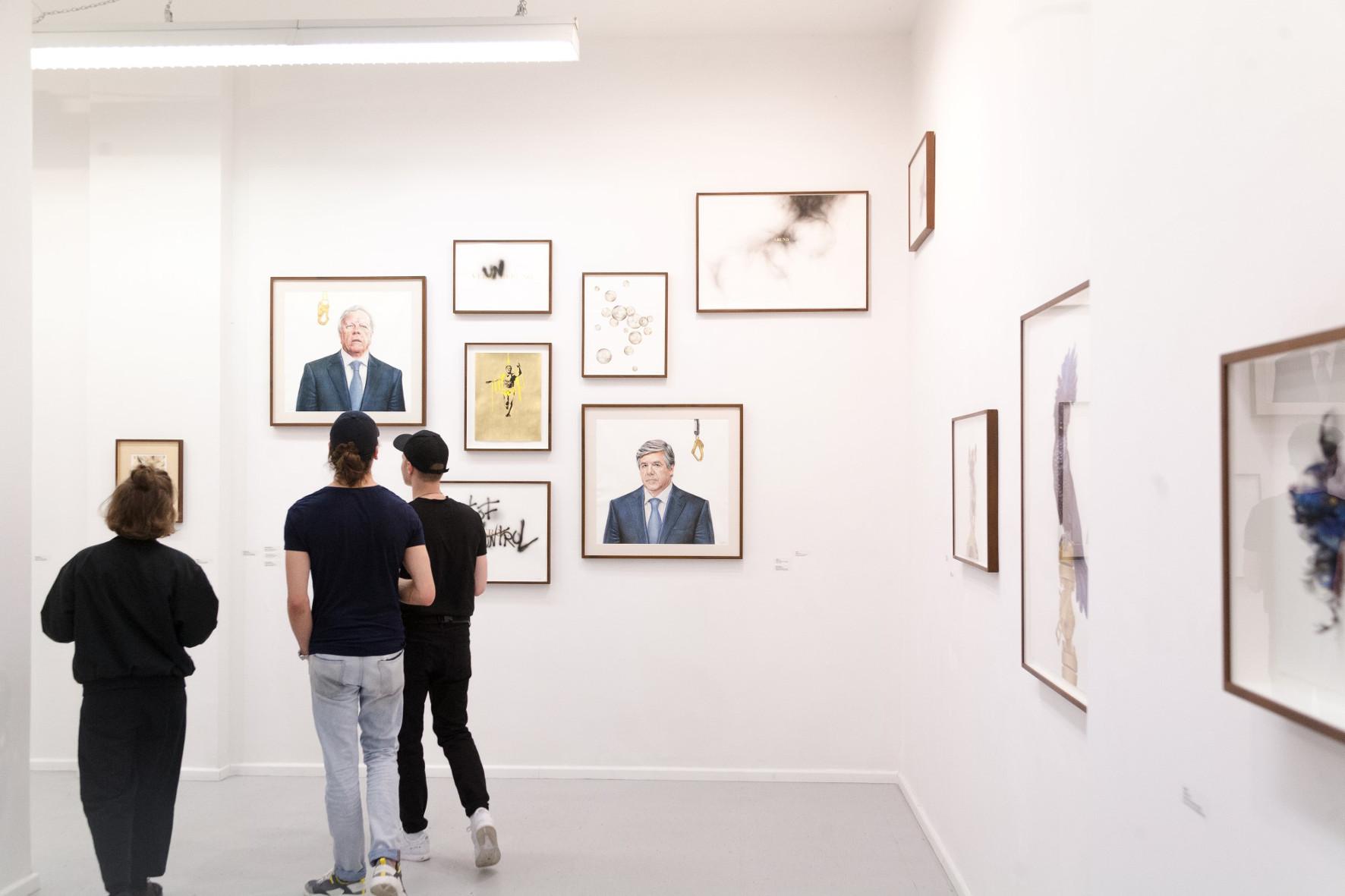 Exhibition, Galerie Kuchling, Berlin, 2019 Karl-Marx Allee 123