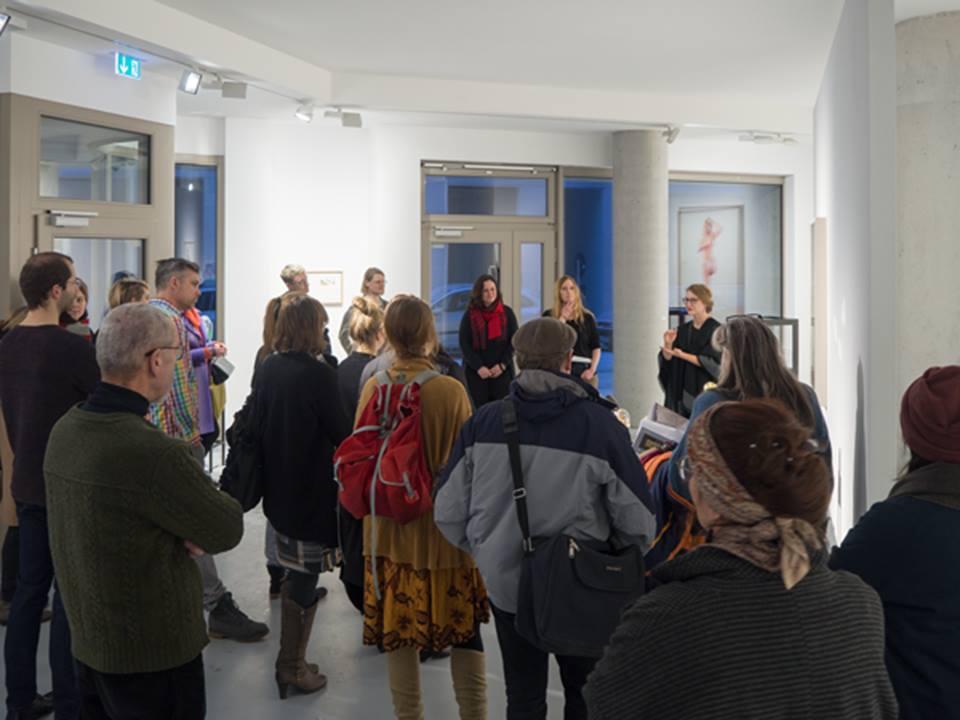 Galerie Gerken Artist Talk, 09.12.2016 - 19.01.2017, Linienstraße 217, 10119 Berlin – Mitte Photograph: Photograph: © Andreas Baudisch, Galerie Gerken