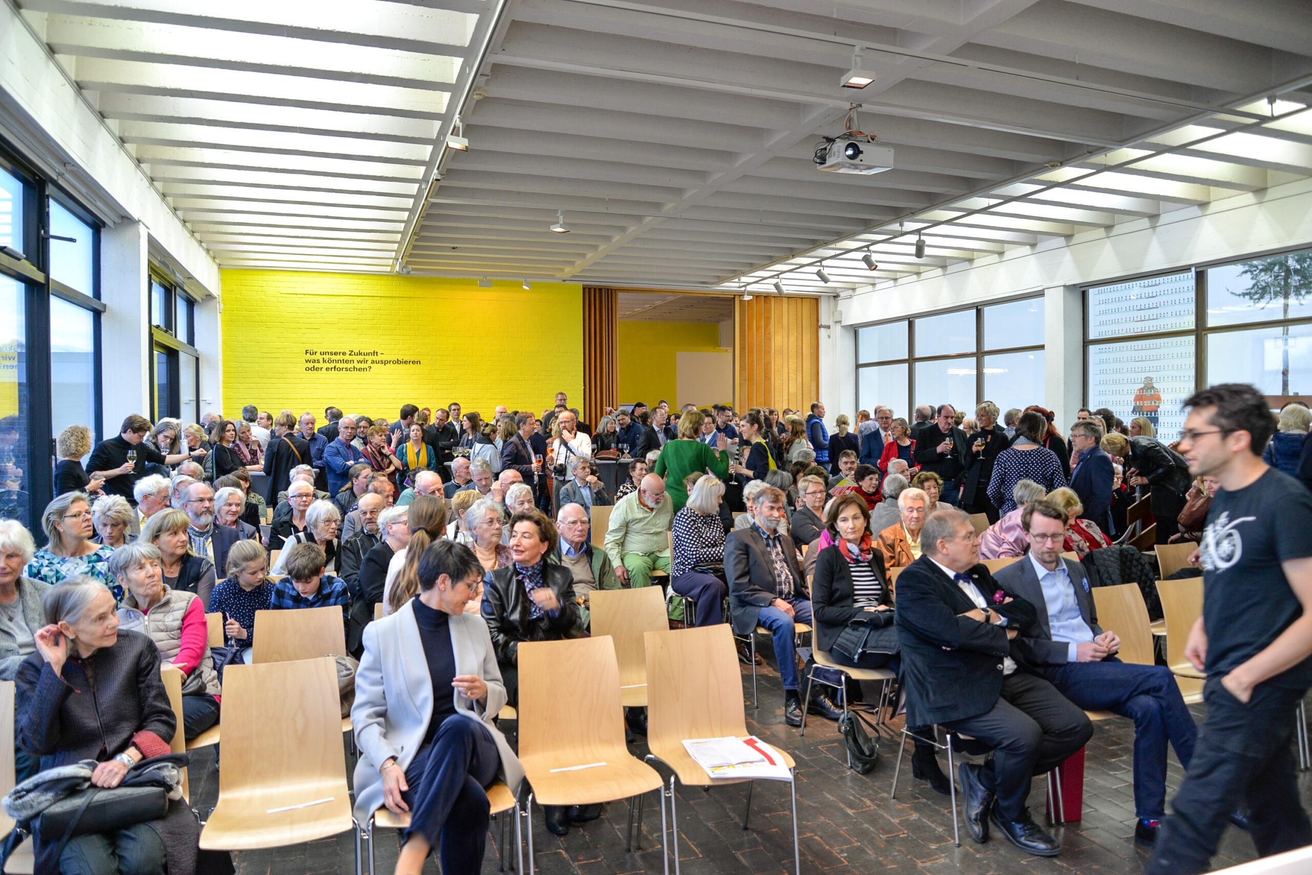 Exhibition opening: Experiment Zukunft, Kunsthalle Rostock, 2019 Photograph: Fritz Beise/Kunsthalle Rostock
