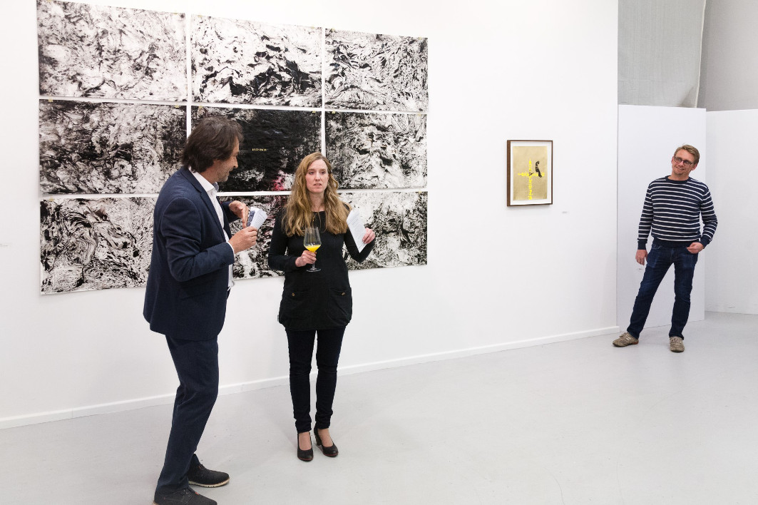 Exhibition Opening, Galerie Kuchling, Berlin, 2019